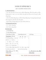 Giáo án Hình học 6 chương 1 bài 2: Ba điểm thẳng hàng