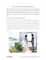Bí quyết tổ chức đám cưới tiết kiệm nhất
