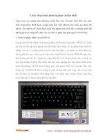 Cách chọn bàn phím laptop chuẩn nhất