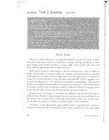 Sample essays task 2 of IELTS test