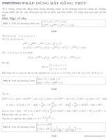 chương 5 hệ phương trình phần 2