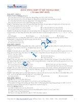 bai tap este trong de thi dai hoc tu nam 2007 2015