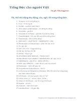 Tiếng Đức cho người Việt Tác giả: Thầy Duggiman phần 1
