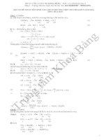 Đáp án đề thi tuyển sinh lớp 10 môn Hóa 2014