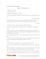 Soạn bài lớp 6: Tính từ và cụm tính từ