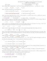 tuyển tập các đề thi môn vật lý 2016  2017 .đề 40
