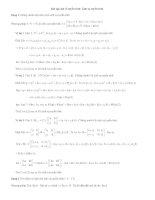 phuơng pháp giải và các dạng bài tập đại số tuyến tính chương 3