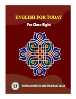 English for today class 8