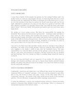 READING PASSAGES ENGLISH 12