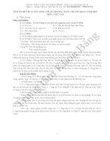 Đáp án đề thi tuyển sinh lớp 10 môn Tiếng Anh năm 2009