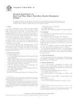 Tiêu chuẩn ASTM A 984 : Standard Specification for Steel Line Pipe, Black, PlainEnd, ElectricResistanceWelded