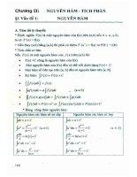 Phương pháp giải toán trắc nghiệm các vấn đề giải tích 12 ĐHQG