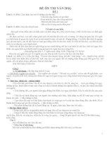 Bộ đề ôn thi học sinh giỏi văn lớp  9