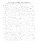 Vật Lý 10: chuyển động tròn đều
