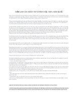 TỔNG HỢP  CHI TIẾT KIẾN THỨC VÀ CÁC BÀI THUỐC VỀ NẤM LINH CHI,SÂM TƯƠI,CAO SÂM  HÀN QUỐC
