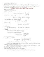 Phương pháp giải bài tập hóa hữu cơ ôn thi THPT quốc gia