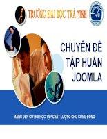 Chuyên đề Tập huấn Joomla 10