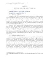 Tài liệu hướng dẫn ôn thi nâng ngạch chuyên viên, cán sự  môn kiến thức chung (chuyên đề 1)