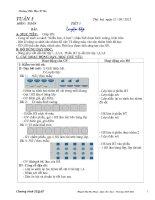Giáo án SEQAP lớp 1   toán học 1   huỳnh thị thu thuỷ