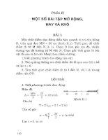 Những bài tập vật lý cơ bản   hay và khó (tập 1 dao động và sóng cơ học) phần 2