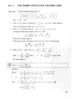 450 Bài tập Trắc nghiệm Tích phân ĐHQG  phần 2