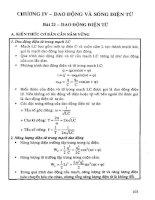 Giải bài tập vật lý 12 (chương trình nâng cao) phần 2