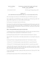 Thông tư số 104/2014/TT-BTC về Quy định bổ sung hệ thống mục lục ngân sách nhà nước
