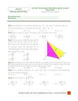 đề trắc nghiệm toán trong 30 phút thầy đoàn trí dũng