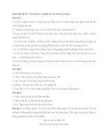 Soạn bài lớp 11: Thực hành về nghĩa của từ trong sử dụng