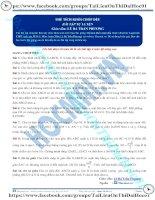 Bài tập tính thể tích khối chóp phần 6 thầy lê bá trần phương