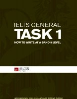 IELTS writing general task 1   how to write at a band 9 level