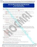 Bài tập tổng quan về phương pháp đếm có đáp án thầy nguyễn thanh tùng
