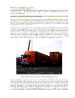 Phát triển hạ tầng hệ thống logistics