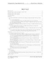 Báo cáo thực tập kế toán: Thực trạng tổ chức công tác kế toán tại Công ty Cổ phần Xây lắp Vinaconex Xuân Mai