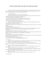 CÁC BÀI THUỐC HAY DÂN GIAN CHỮA GÚT HIỆU QUẢ NHẤT