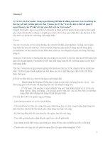 Tài liệu ôn thi Nghiệp Vụ Kinh Doanh Ngoại Thương