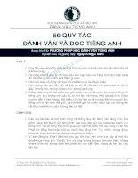 50 quy tac danh van tieng anh danhvantienganh com up by leducthien93  6235