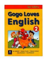Gogo loves English 2 students book