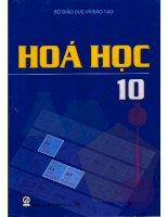 sách giáo khoa hóa học 10   nguyễn xuân trường