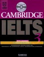IELTS  Cambridge 3