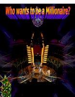 Game Ppt Ai là triệu phú tiếng Anh Whos milionare? hay, chọn lọc, có hiệu ứng âm thanh