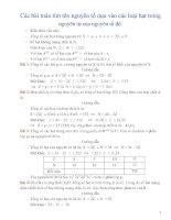 Bài 4    các bài toán tìm tên nguyên tố dựa vào các loại hạt trong nguyên tử của nguyên tố đó