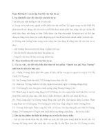Soạn bài lớp 8: Luyện tập tóm tắt văn bản tự sự