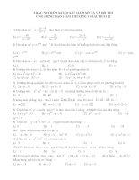 200 bài tập trắc nghiệm chương 1 giải tích 12 Khảo sát hàm số và vẽ đồ thị, ứng dụng của đạo hàm