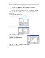 Hướng dẫn sử dụng microstation bài 2 mới