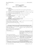 Giáo án vật lý 8 kì 1