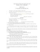 Mẫu biên bản về việc họp xét kỉ luật sinh viên