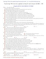 Tuyển tập 789 câu trắc nghiệm vật lý luyện thi đại học 2017