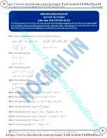 Phương pháp hàm số giải phương trình mũ logarit thầy nguyễn bá tuấn