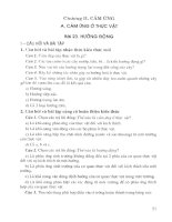Hướng dẫn giải bài tập sinh học 11 (chương trình chuẩn) phần 2